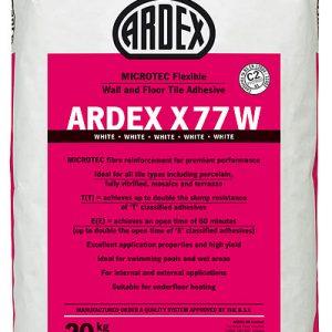Ardex X77 White Flexible Wall & Floor Adhesive 20kg