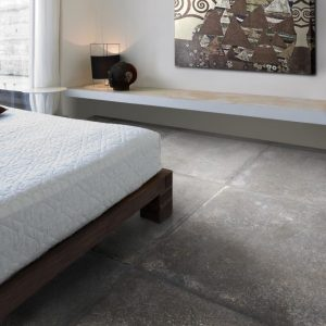 Dusty Grey Matt Porcelain Floor tile 75x75cm