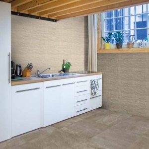 Essential Beige Matt 7.5x30cm Wall