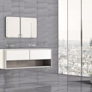 Millenium Grey Wall 20x50cm