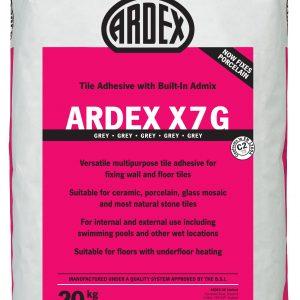 Ardex X7 Grey Standard Setting Flexible Wall & Floor Adhesive 20kg