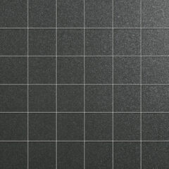 Azteca Smart Lux Black Semi-polished 30x30cm Mosaic Porcelain Sheet