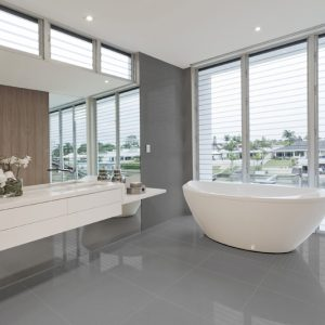 Azteca Smart Lux Graphite Semi-polished 60x60cm Porcelain tile