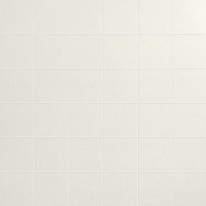 Azteca Smart Lux White Semi-polished Mosaic Porcelain Tiles 30x30cm