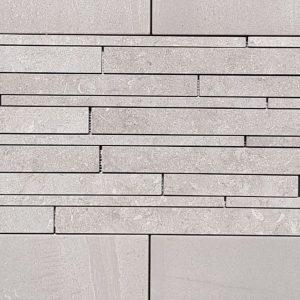 END OF LINE – Evolution Grey Mosaic Listello 30x60cm