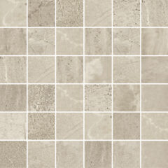 END OF LINE – Blast Rock Taupe Matt Porcelain Wall or Floor Mosaic 30x30cm