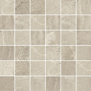 END OF LINE – Rock Taupe Matt Porcelain Wall or Floor Mosaic 30x30cm