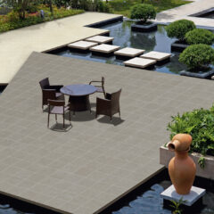 END OF BATCH – Vandome Grafito Porcelain Anti-Slip Floor 44x89cm SHADE 1A/1 (suitable for outdoor use)