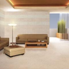 END OF LINE Vandome Beige Porcelain Matt Wall or Floor 44x89cm