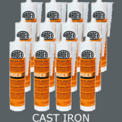 Ardex ST Silicone Sealant Cast Iron – Bulk Buy 12 Tubes (310ml per tube)