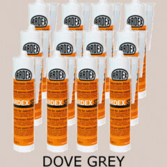 Ardex ST Silicone Sealant Dove Grey – Bulk Buy 12 Tubes (310ml per tube)