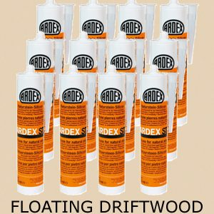 Ardex ST Silicone Sealant Floating Driftwood – Bulk Buy 12 Tubes (310ml per tube)