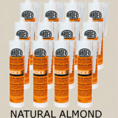 Ardex ST Silicone Sealant Natural Almond – Bulk Buy 12 Tubes (310ml per tube)