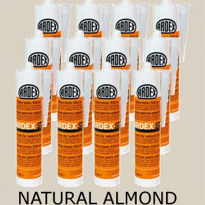 Ardex ST Silicone Sealant Natural Almond – Bulk Buy 12 Tubes (310ml per tube)