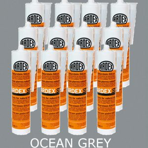 Ardex ST Silicone Sealant Ocean Grey – Bulk Buy 12 Tubes (310ml per tube)