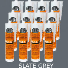 Ardex ST Silicone Sealant Slate Grey – Bulk Buy 12 Tubes (310ml per tube)