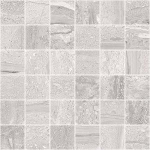 Stratum Anthracite Matt Porcelain Wall or Floor Mosaic 30x30cm