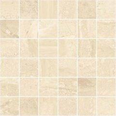 Stratum Beige Matt Porcelain Wall or Floor Mosaic 30x30cm