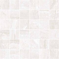 Stratum Grey Matt Porcelain Wall or Floor Mosaic 30x30cm