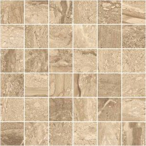 Stratum Noce Matt Porcelain Wall or Floor Mosaic 30x30cm