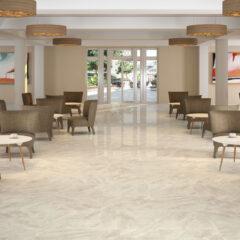 Nairobi Marfil 80x80cm Glossy Porcelain tile