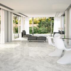 Nairobi Perla 80x80cm Glossy Porcelain tile
