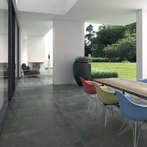 Rust Steel Semi-polished 60x60cm Porcelain tile