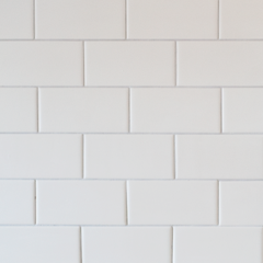 END OF LINE – Metro Flat Matt Ceramic Wall White 7.5x15cm