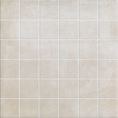 beige cement look mosaic