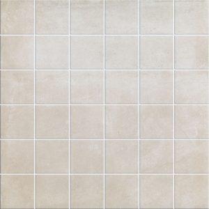 Siena Beige Matt Porcelain Wall or Floor Mosaic 30x30cm