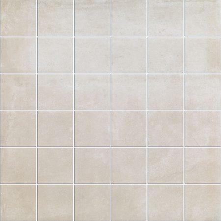 beige cement look mosaic