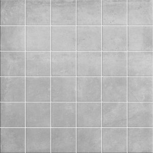 Siena Grey Matt Porcelain Wall or Floor Mosaic 30x30cm