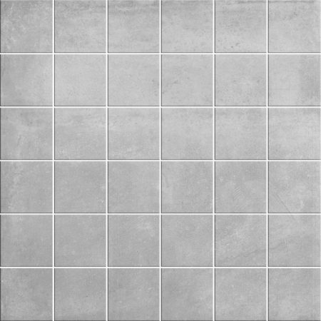 Grey cement look mosaic