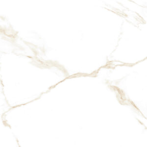 Atmosphere Marble White and Gold 60.4×60.4cm Polished Porcelain tile