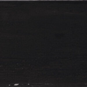 Rustic Gloss Black Ceramic Wall 7.5x15cm