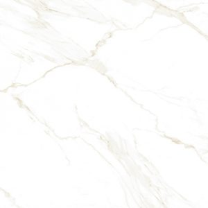 Atmosphere gold veined rectangle marble look Polished Porcelain