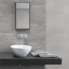Riviera Grey Rio Decor Wall tile 20x50cm