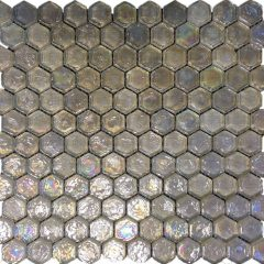 Casado Ice Glass Hexagon Mosaic Mix 28.5x31cm