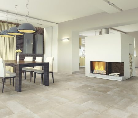 Beige rectangle cement look %%sep%% Suitable for walls and floors