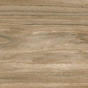 Luster Teak Polished Wood effect Porcelain 20x120cm