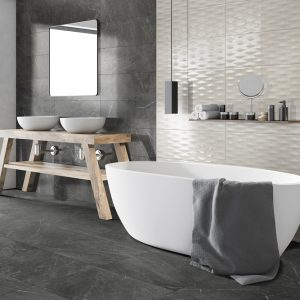 Adriatic Black Matt Porcelain 60x60cm