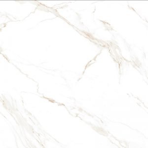 Atmosphere Marble White-Beige-Gold Rectified MATT Porcelain 60x60cm