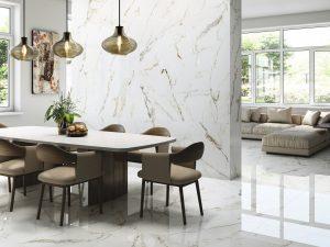 Gloss ceramic wall tile